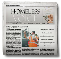 The Homeless Voice - Sean Cononie