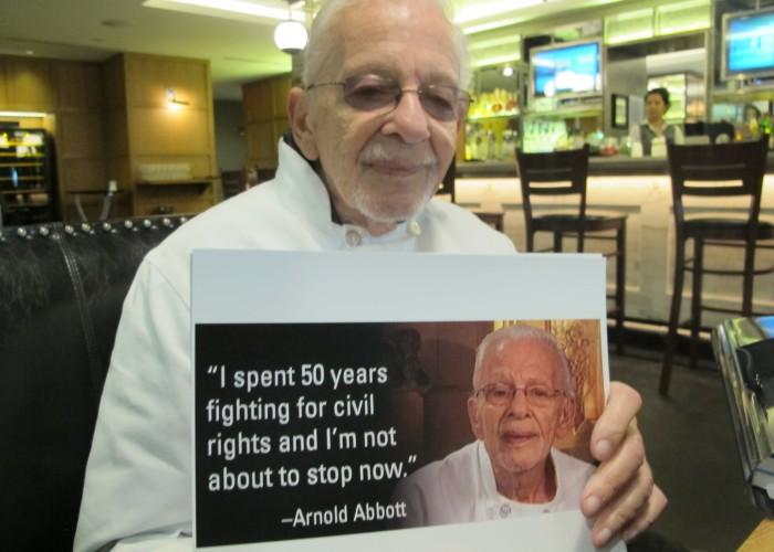 Arnold Abbottt, Activist for Feeding Homeless, Goes to Washington